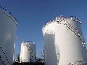 Fabricação e Montagem Tanques - Manufacturing and assembly of atmospheric Storage Tank